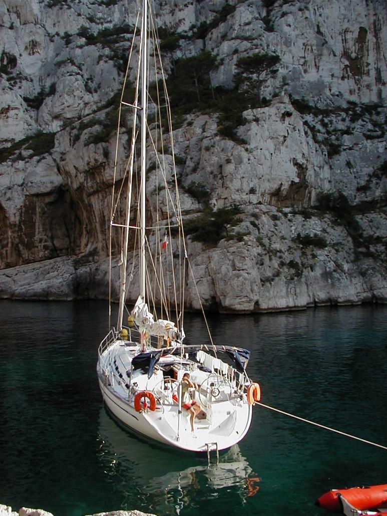 Nachtankern Calanque de Port Pin