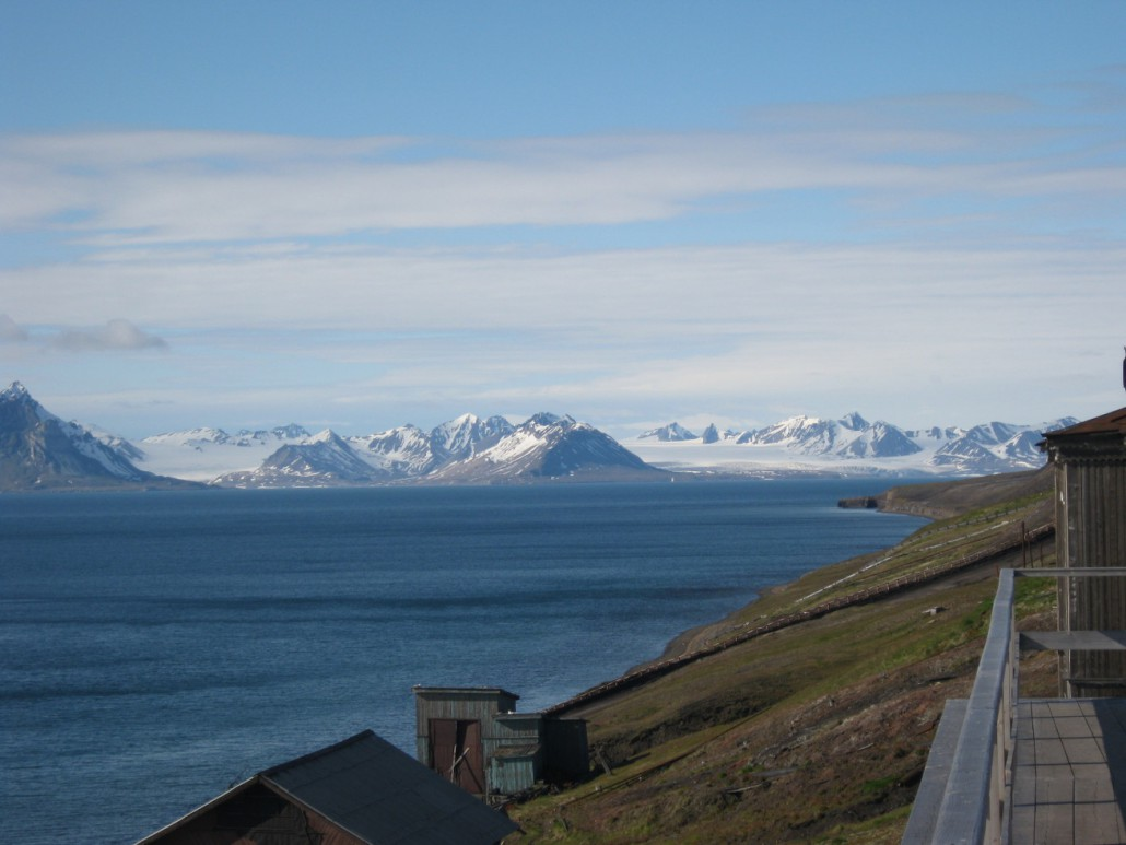 Blick auf Isfjord