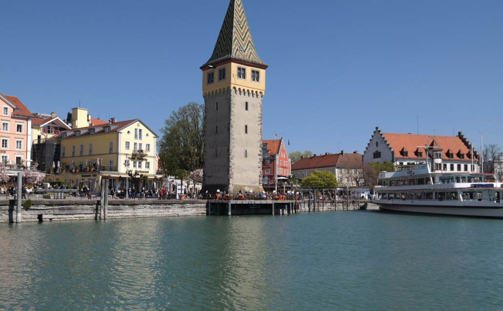 Segeln Bodensee | Stadthafen Lindau
