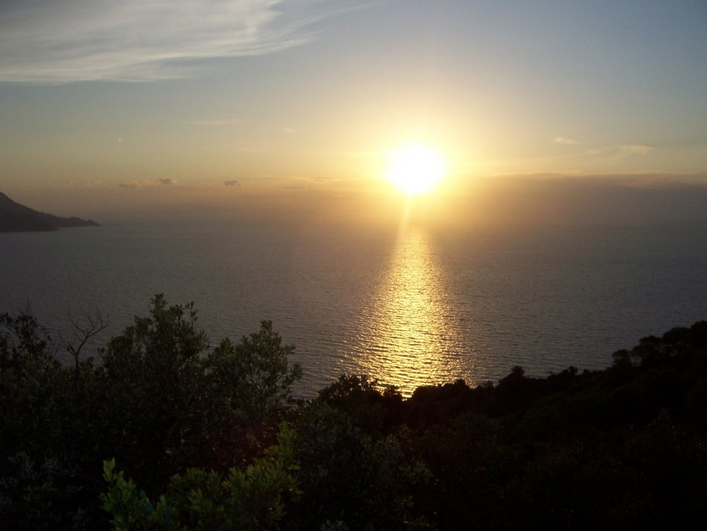 Schiappino Sonnenuntergang