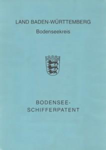 Bootsführerschein - Bodenseeschifferpatent