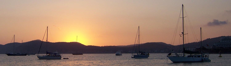 Sonnenuntergang Cala de Santa Ponca