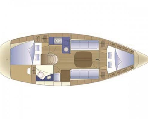 Segelboot Il Sogno